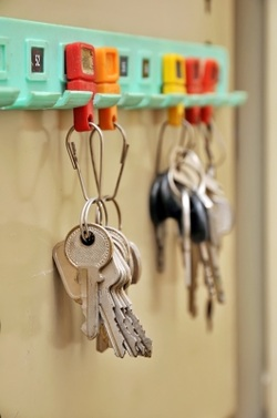 AMHA Keys Hanging